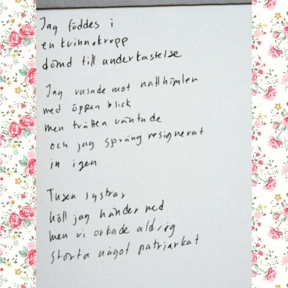 dikt nils ferlin bröllop