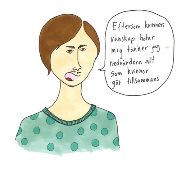 nedvärderandeavkvinnor